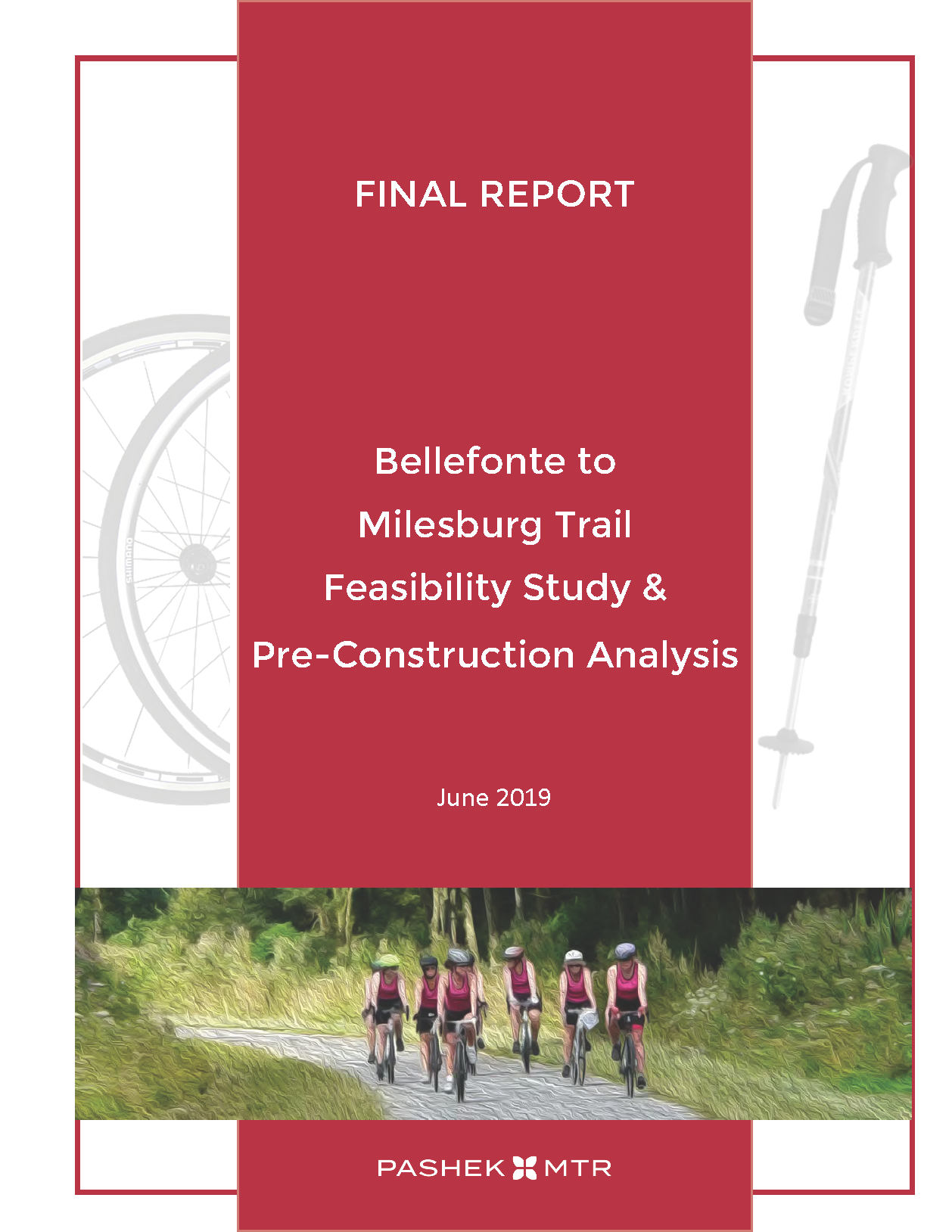 Bellefonte-Milesburg Trail Feasibility Study - Final Document Cover