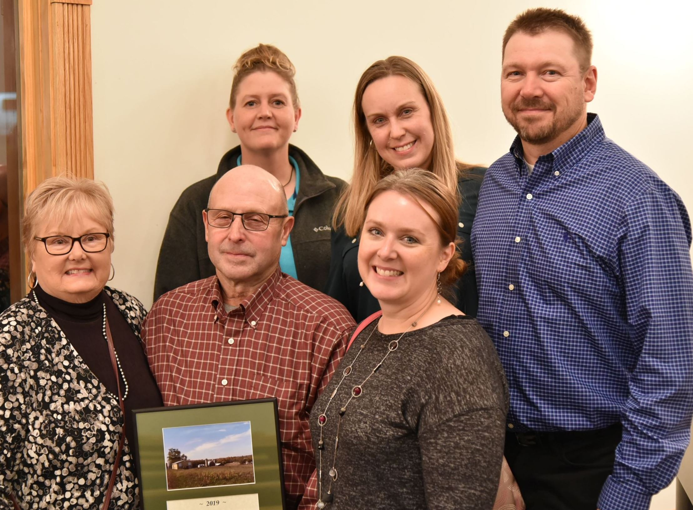 Meyer Dairy Family, Meyer Dairy Farms- 2019 Conservation Farmer Award